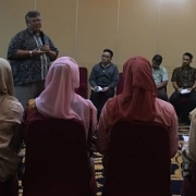 Case management training in Indonesia