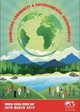World Social Work Day 2018 poster