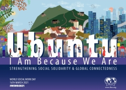 World Social Work Day 2021 poster