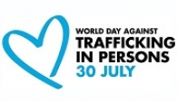 logo for World Day Against Trafficking in Persons, July 30