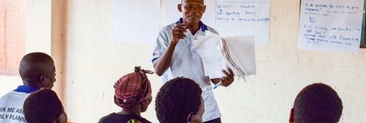 Case care conferencing in Uganda