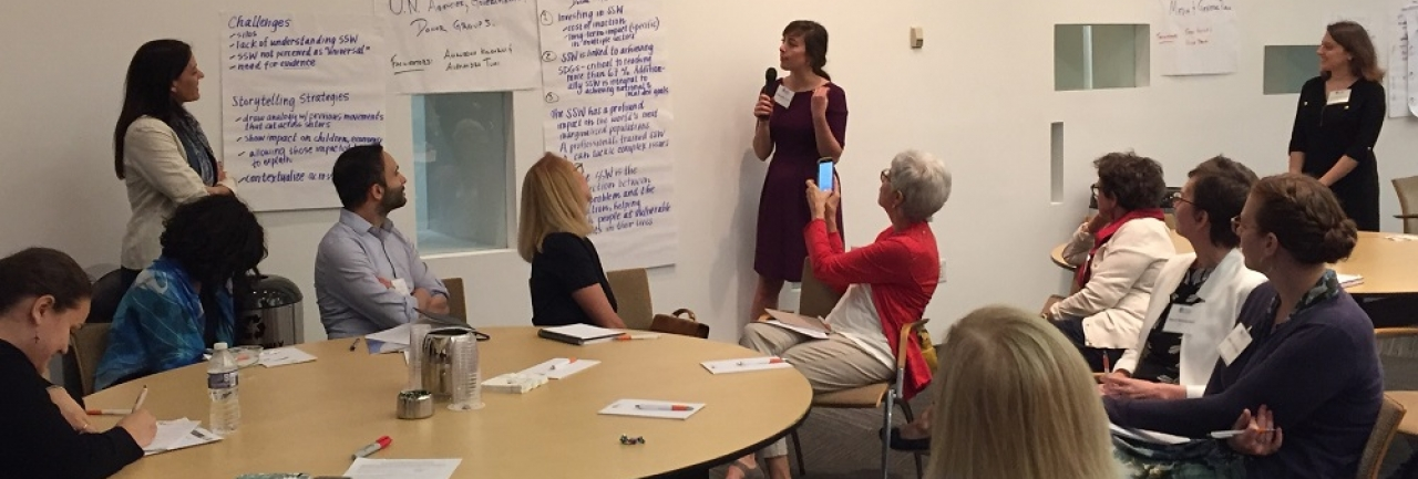 working group on developing key messages