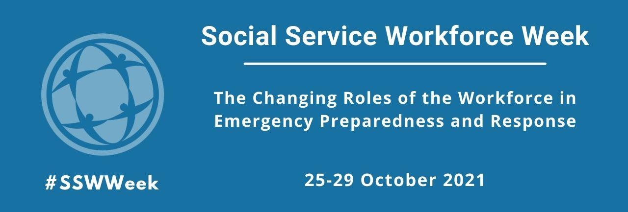 Social service workforce week banner