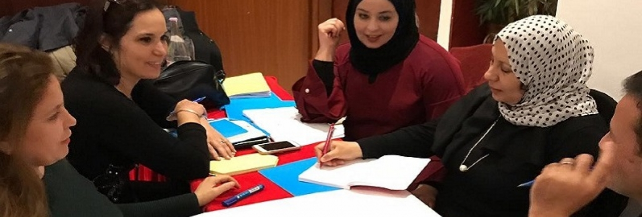 Country-level task group on strengthening the workforce meets in Tunisia